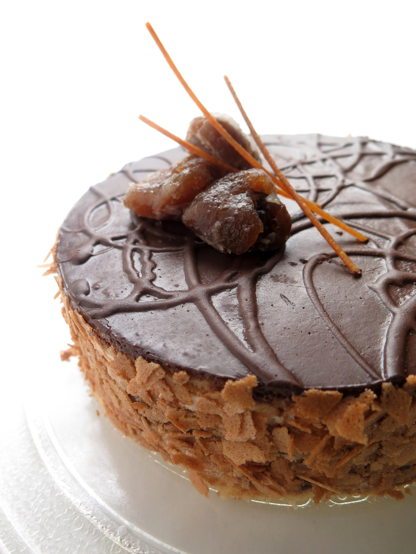 Gâteau châtaignes